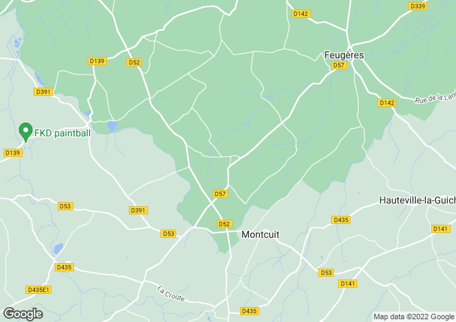 Map for 50490 LE MESNILBUS, Manche, France