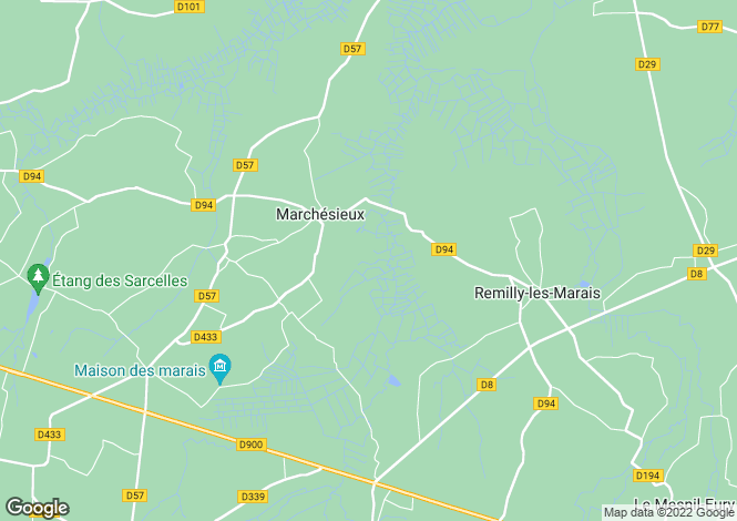 Map for marchesieux, Manche, France
