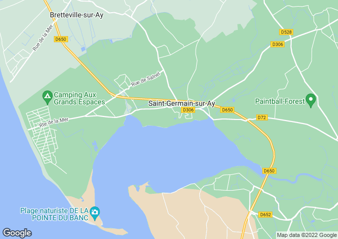 Map for Normandy, Manche, St-Germain-sur-Ay