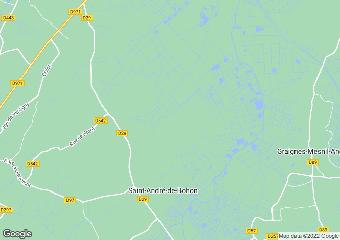 Map for st-georges-de-bohon, Manche, France