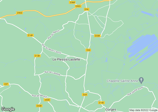 Map for le-plessis-lastelle, Manche, France
