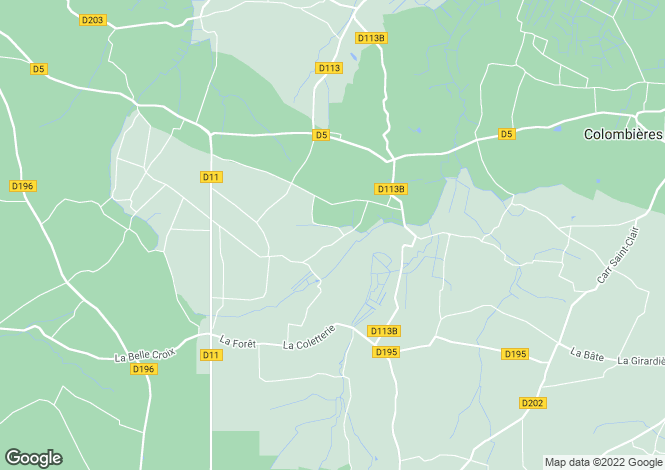 Map for CASTILLY, Basse-Normandie