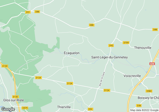 Map for ecaquelon, Eure, France