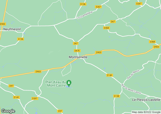 Map for LITHAIRE, 50250, France