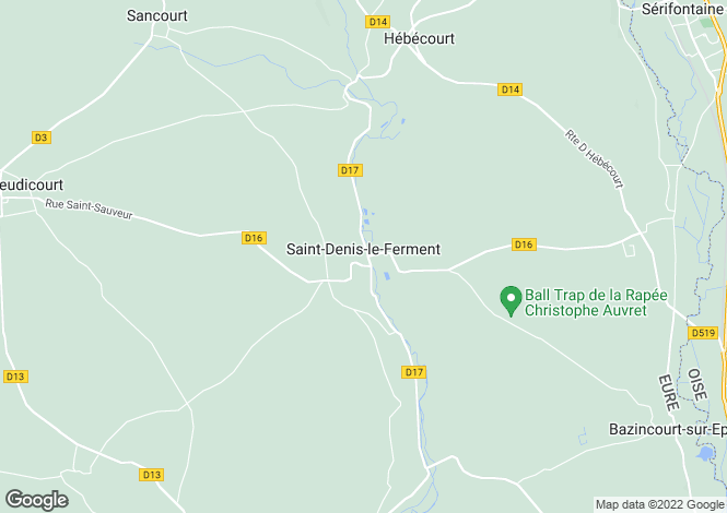Map for st-denis-le-ferment, Eure, France