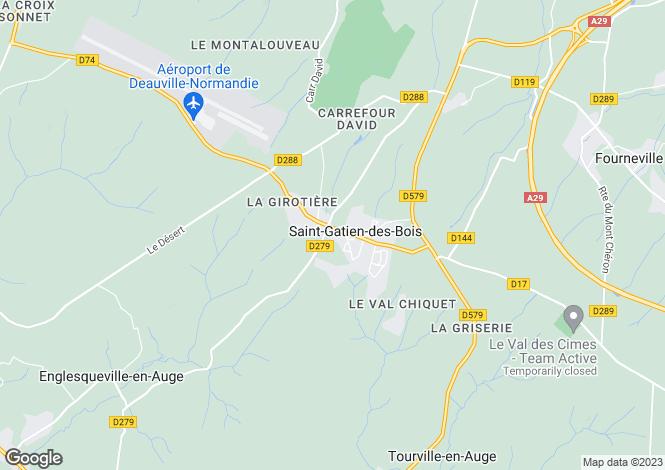 Map for SAINT GATIEN DES BOIS, NORMANDIE
