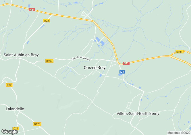 Map for ons-en-bray, Oise, France