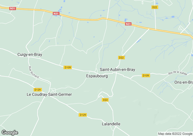 Map for espaubourg, Oise, France