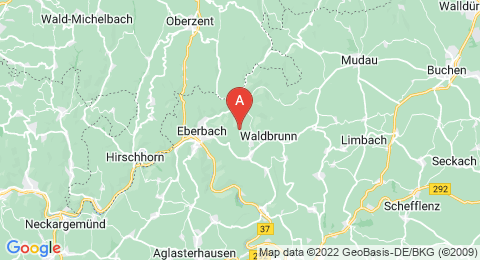 map of Katzenbuckel (Germany)