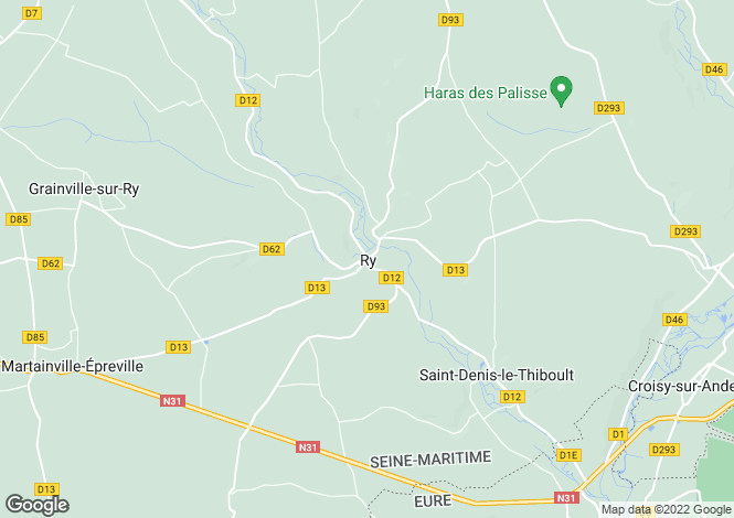 Map for ry, Seine-Maritime, France