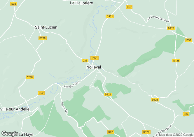 Map for nolleval, Eure, France