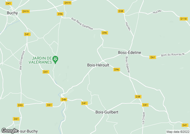 Map for bois-heroult, Seine-Maritime, France