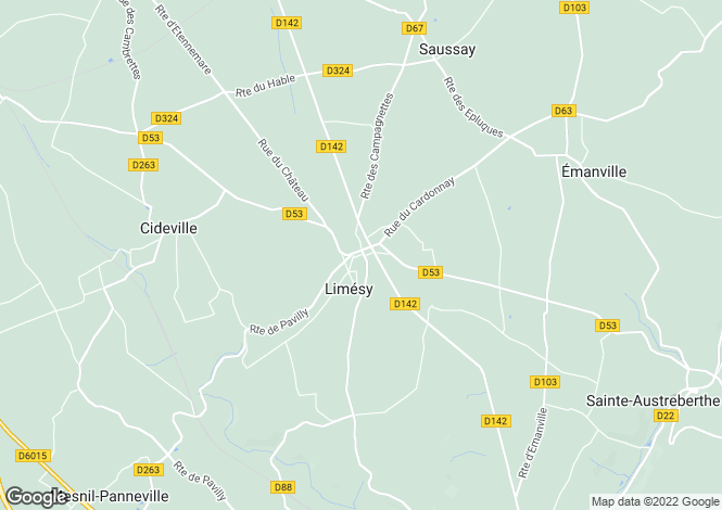 Map for limesy, Seine-Maritime, France