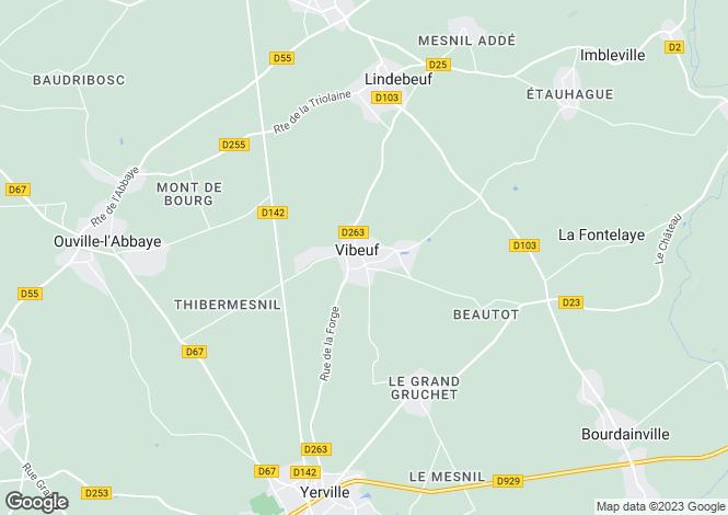 Map for vibeuf, Seine-Maritime, France