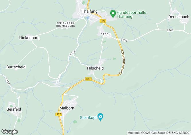 Map for Rhineland-Palatinate, Thalfang