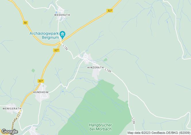 Map for Rhineland-Palatinate, Morbach