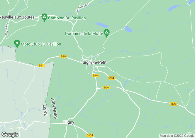 Map for Champagne-Ardenne, Ardennes, Signy-le-Petit
