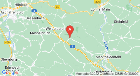 map of Geiersberg (Germany)