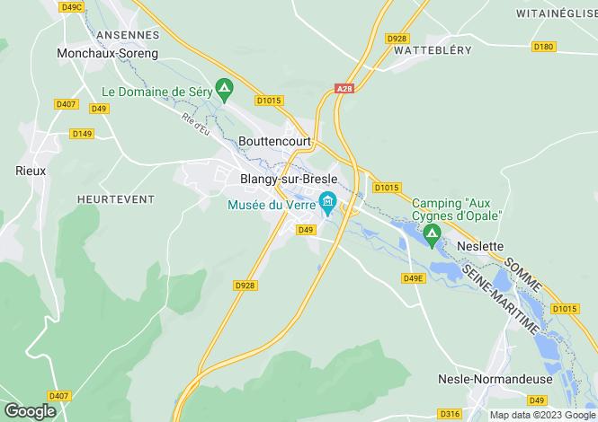 Map for blangy-sur-bresle, Seine-Maritime, France