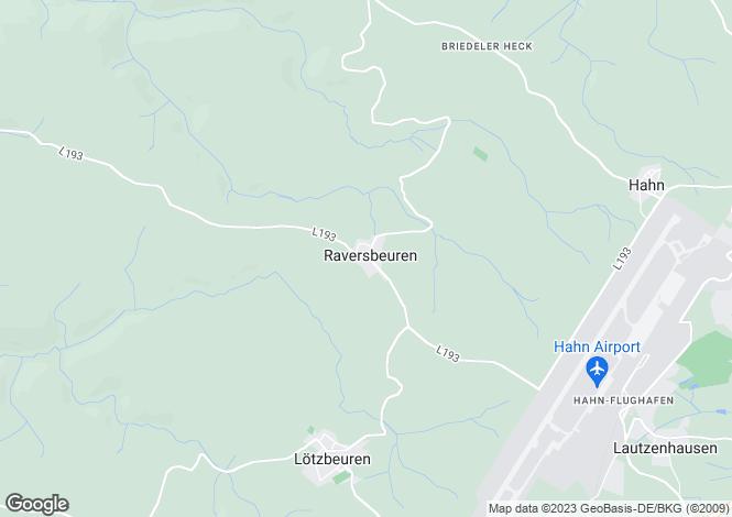 Map for Rhineland-Palatinate, Enkirch