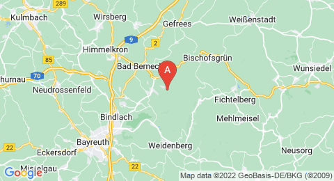map of Fürstenstein (Germany)