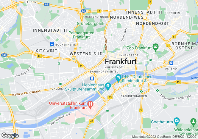 Map for Elbestrasse, Frankfurt, Hessen, 60329, Germany
