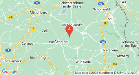 map of Buchberg (Germany)