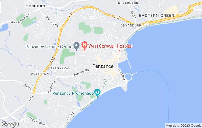 Map for Stratton Creber, Penzance
