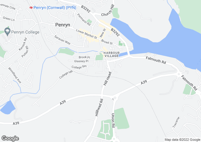 Map for PENRYN