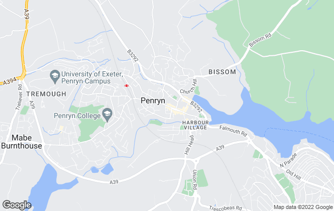 Map for Miller Countrywide, Penryn