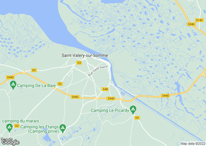 Map for Near Saint Valery-sur-Somme, Somme, Picardie