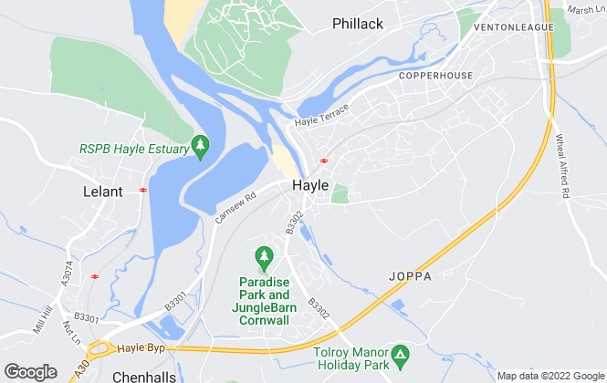 Map for Berwicks, Hayle