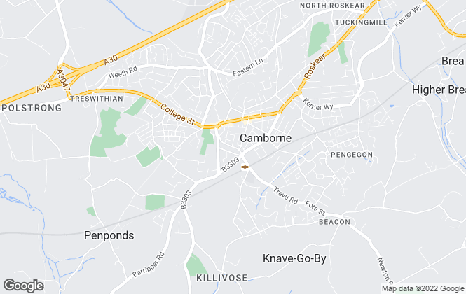 Map for Celtic Estate Agents, Camborne