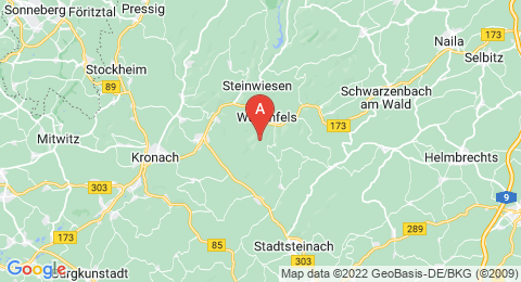 map of Geuserberg (Germany)