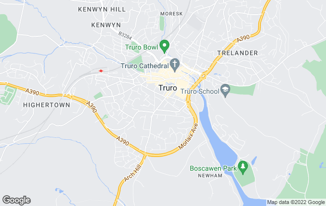 Map for Humberts, Truro