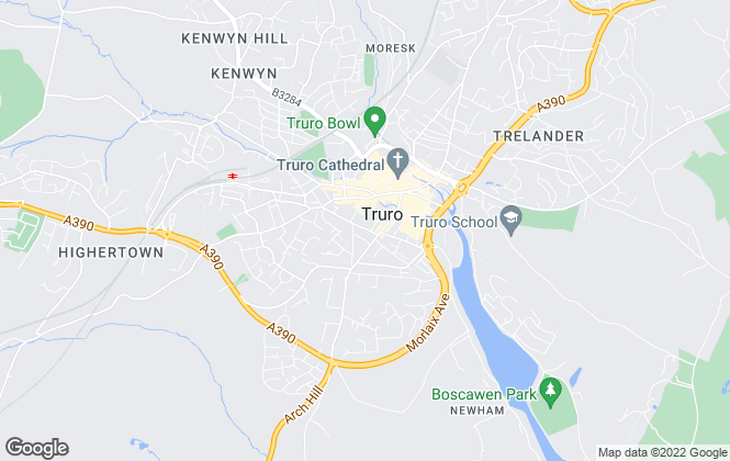 Map for Millerson, Truro