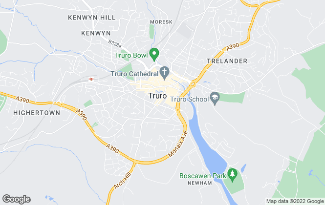 Map for Cornwall Homeseekers Ltd, Truro