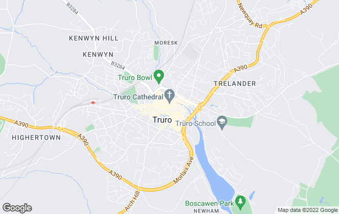 Map for Philip Martin, Truro