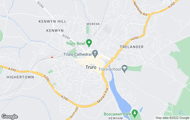 Map for Philip Martin, Truro - Lettings
