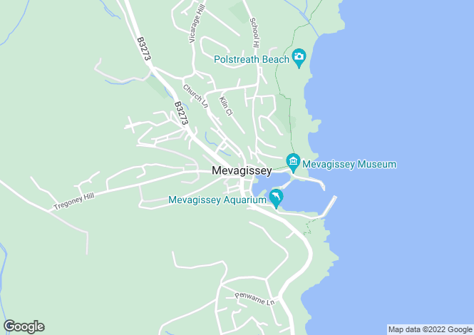 Map for MARKET SQUARE, MEVAGISSEY