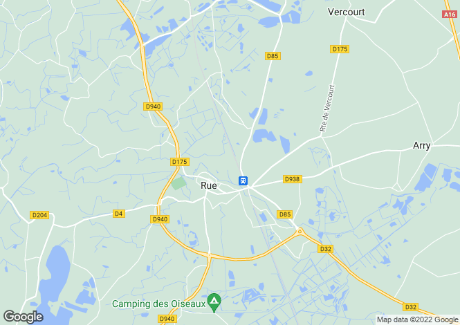 Map for rue, Somme, France