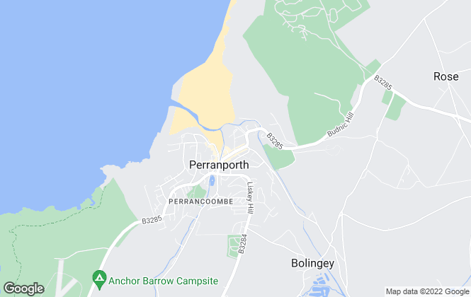 Map for Millerson, Perranporth