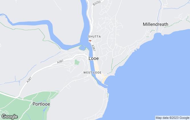 Map for Seasons Estate Agents Ltd, East Looe