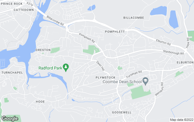 Map for Connells, Plymstock