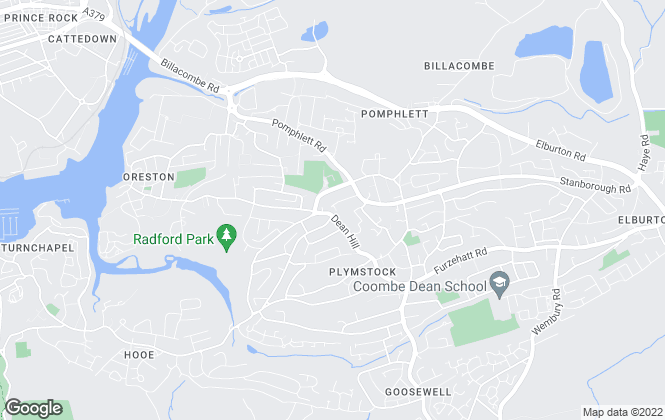 Map for Fulfords, Plymstock