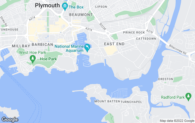 Map for Belvoir, Plymouth
