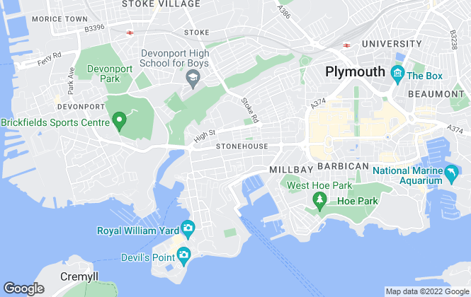 Map for Barton Wykes, Plymouth