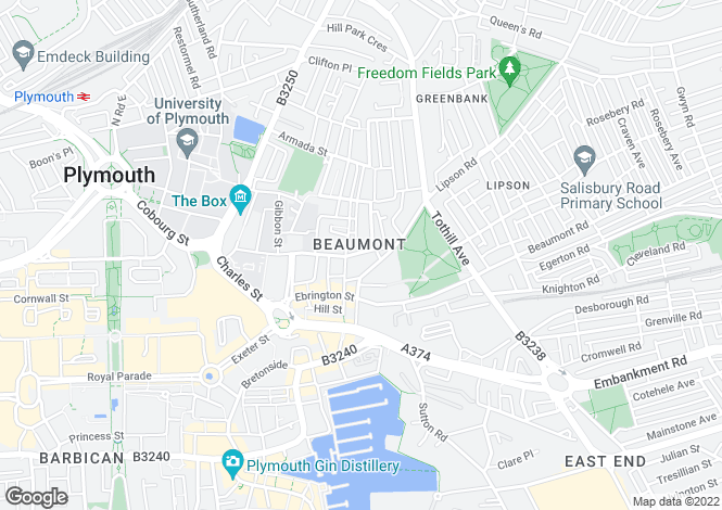 Map for 30 Regent Street