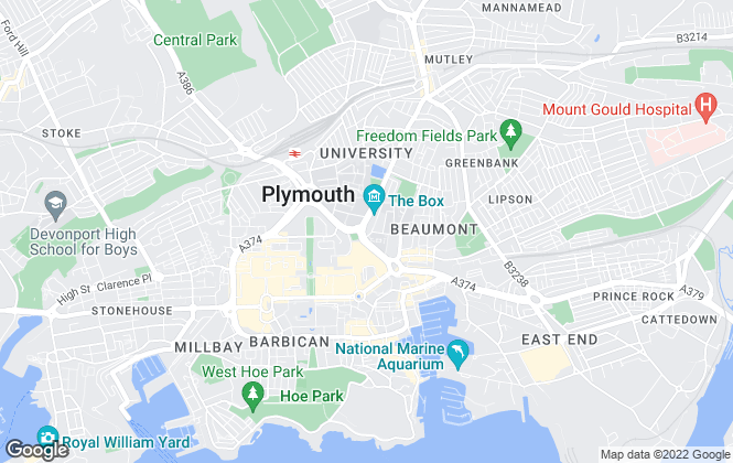 Map for Connells, Plymouth
