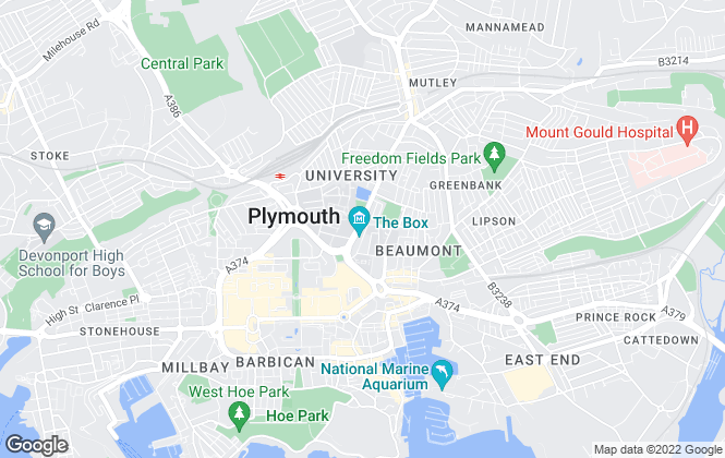 Map for Fulfords Lettings, Plymouth